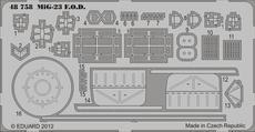 MiG-23 čechlo 1/48