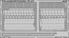 Beaufighter Mk.VI vztlakové klapky 1/48