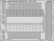 Tomahawk Mk.II vztlakové klapky 1/48