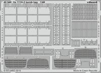 He 111H-3 bomb bay 1/48