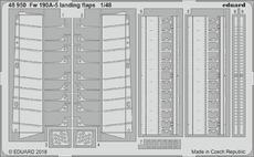 Fw 190A-5 vztlakové klapky 1/48