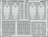 Su-17/22UM3K brzdící štíty 1/48