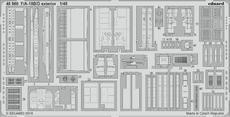 F/A-18B/D exteriér 1/48