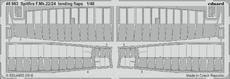 Spitfire F.Mk.22/24 vztlakové klapky 1/48