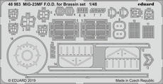 MiG-23MF F.O.D. for Brassin set 1/48