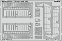 Hunter F.6 vztlakové klapky 1/48