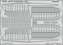 Yak-1b landing flaps 1/48
