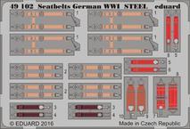 Seatbelts German WWI STEEL 1/48