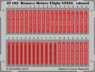 Remove Before Flight STEEL 1/48