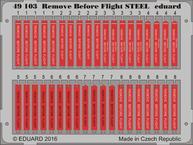 Remove Before Flight STEEL 1/48