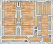 B-17G wooden floors & ammo boxes 1/48