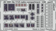 He 111Z radio compartment 1/48
