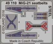 MiG-21 シートベルト スチール 1/48