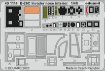 B-26C Invader nose interior 1/48