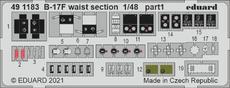 B-17F waist section 1/48