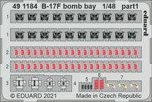 B-17F bomb bay 1/48