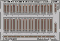 CH-47C/HC-1 Chinook cargo seatbelts 1/48