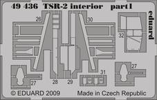 TSR-2 interiér S.A. 1/48