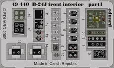 B-24J передний интерьер 1/48