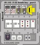 F-22 bomb bay 1/48