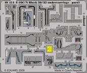 F-16C/N Block 30/32 undercarriage 1/48