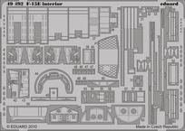 F-15E interiér S.A. 1/48