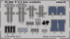 F-111 upínací pásy pozdní verze 1/48