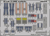 F-100F シートベルト 1/48