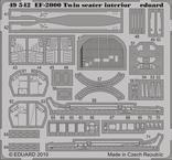 EF-2000 dvoumístný interiér S.A. 1/48