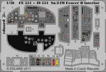 Su-24M Fencer D interior S.A. 1/48