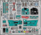 MiG-21MF late interior S.A. 1/48