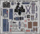 MiG-21F-13 内装 接着剤塗布済 1/48