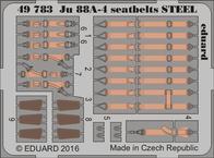 Ju 88A-4 seatbelts STEEL 1/48
