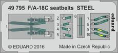 F/A-18C seatbelts STEEL 1/48