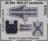 MiG-27 シートベルト スチール 1/48