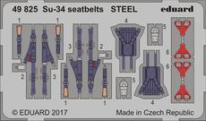 Su-34 seatbelts STEEL 1/48