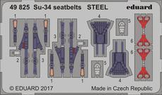 Су-34 стальные ремни 1/48