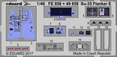 Су-35 Flanker E интерьер 1/48