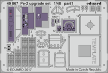 Pe-2 upgrade set 1/48