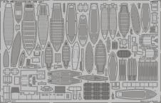 HMS フッド パート4  ライフラフト 1/200