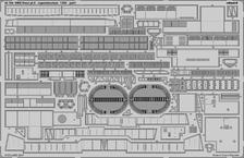 HMS Hood část 6 - hlavní nástavba 1/200