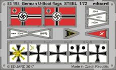 German U-boat flags STEEL 1/72