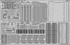DKM Graf Zeppelin pt.1 deck & jeřáby 1/350