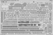 DKM Graf Zeppelin antény & nástavba část 3 1/350