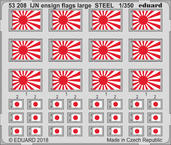 IJN národní vlajka velká OCEL 1/350