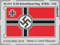 S-38 Schnellboot vlajka OCEL 1/35