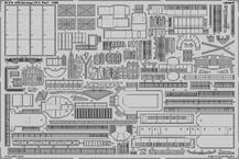 USS サラトガ CV-3 パート1 1/350