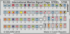 Mezinárodní námořní vlajková abeceda OCEL 1/700
