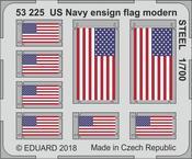 US Navy národní vlajka, moderna, OCEL 1/700