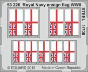 Royal Navy národní vlajka 2.sv.v. OCEL 1/700